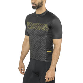 Bontrager Circuit LTD Jersey Men gold kaleidoscope